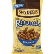 Snyder's of Hanover Rounds Sea Salt Mini Pretzel Balls
