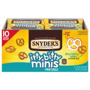 Snyder's of Hanover Itty Bitty Mini Pretzels
