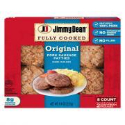 Jimmy Dean Fresh Taste Fully Cooked Sausage Patties