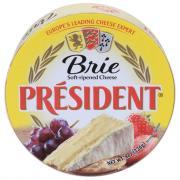 President Plain Brie Cheese