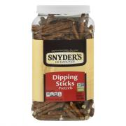 Snyder's of Hanover Dipping Sticks Pretzel Canister