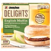 Jimmy Dean Delights Turkey Sausage Muffins