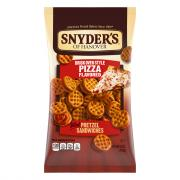 Snyder's of Hanover Brick Oven Pizza Pretzel Sandwiches