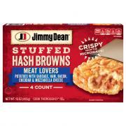 Jimmy Dean Stuffed Hash Browns Meat Lovers