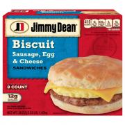 Jimmy Dean Sausage Egg & Cheese Biscuits