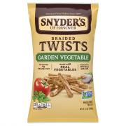 Snyder's of Hanover Garden Vegetable Twists