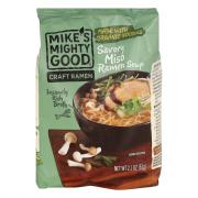 Mike's Mighty Good Savory Miso Ramen Noodle Soup