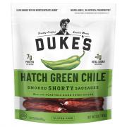 Duke's Hatch Green Chili Smoked Shorty Sausages