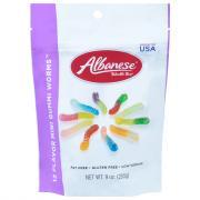 Albanese World's Best 12 Flavor Mini Gummi Worms