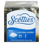 Scotties 2-Ply Cube White Facial Tissues