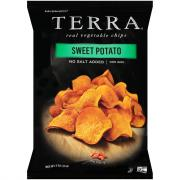 Terra No Salt Sweet Potato Chips