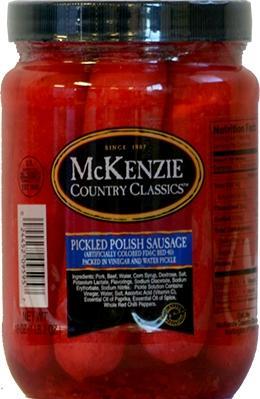 Mckenzie Pickled Polish Sausage