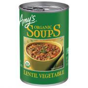 Amy's Organic Lentil Vegetable Soup