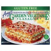 Amy's Gluten Free Garden Veggie Lasagna
