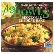 Amy's Gluten Free Broccoli & Cheddar Bake Bowls
