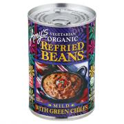Amy's Organic Refried Beans with Chiles