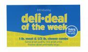 Deli Deal Old Neighborhood Roast Beef & Cooper Sharp Cheese