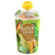 Happy Tot Stage 4 Organic Superfood Spinach, Mango & Pear