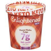 Enlightened Keto Collection Peanut Butter Fudge Ice Cream