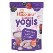 Happy Baby Organic Yogis Mixed Berry Yogurt Snacks
