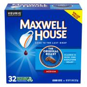 Maxwell House Original Roast Coffee K-Cups