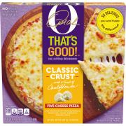 O That's Good Five Cheese Classic Crust Pizza