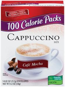 General Foods International Cappuccino Mocha Coffee