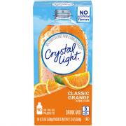 Crystal Light On the Go Sunrise Orange Drink Mix