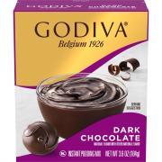 Godiva Dark Chocolate Pudding