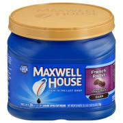 Maxwell House French Roast Dark Can