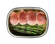 Pork Tenderloin Medallions and Asparagus