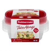 Rubbermaid TakeAlongs 2.9-Cup Sandwich Containers