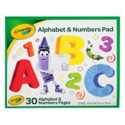Crayola Alphabet & Numbers Pad