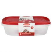Rubbermaid TakeAlongs 1-Gallon Rectangle Containers