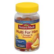 Nature Made Multi Mens Omega 3 Gummies