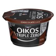 Dannon Oikos Triple Zero Chocolate Yogurt