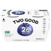 Dannon Two Good Blueberry Greek Yogurt