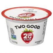Dannon Two Good Strawberry Greek Yogurt