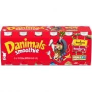 Dannon Danimals Strawberry Explosion/Banana Split Smoothies