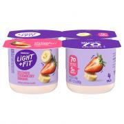 Dannon Light & Fit Traditional Strawberry Banana Yogurt