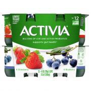 Dannon Activia Strawberry & Blueberry Yogurt