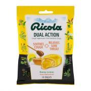 Ricola Dual Action Honey-Lemon Cough Drops