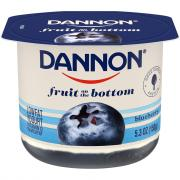 Dannon Fruit on the Bottom Blueberry Low Fat Yogurt