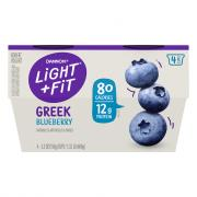 Dannon Light & Fit Greek Blueberry Nonfat Yogurt