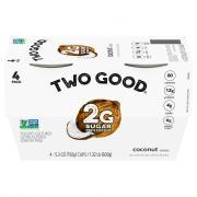 Dannon Two Good Coconut Greek Yogurt