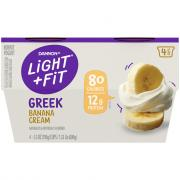 Dannon Light & Fit Greek Banana Cream Pie