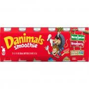 Dannon Danimals Smoothie Strawberry & Wild Watermelon Flavor