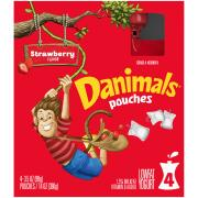 Dannon Danimals Squeeze Strawberry Explosion Pouch
