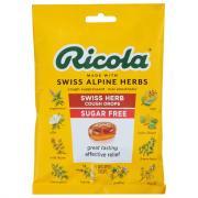 Ricola Sugar Free Mint Herb Cough Drops