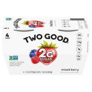 Dannon Two Good Mixed Berry Greek Yogurt